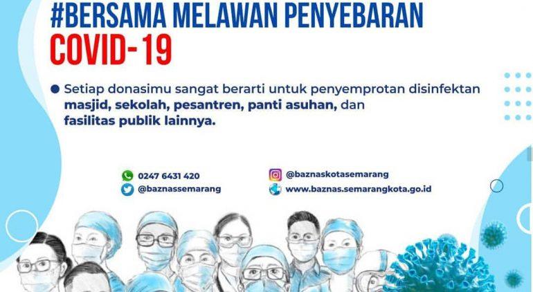 Donasi Pencegahan Covid-19 di Kota Semarang